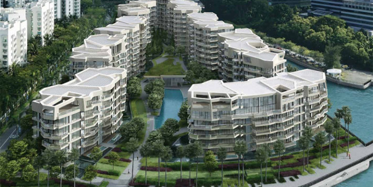 new condo corals at keppel bay