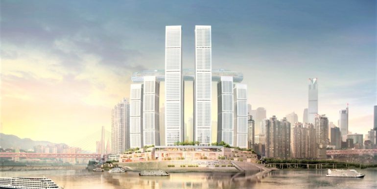 rallfes city chongqing river view
