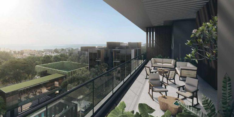 Kent Ridge Hill Residences Balcony