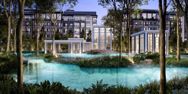 Mayfair Gardens Showflat Location Bukit Timah Poolside