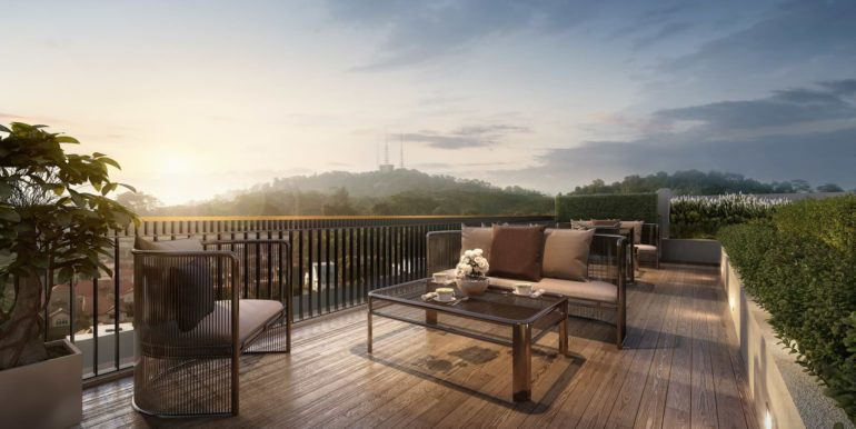 Mayfair Gardens Showflat Location Bukit Timah Rooftop
