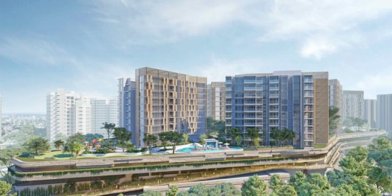 sengkang central mixed development